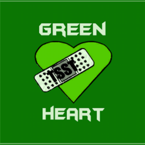 turbo green heart lp  cover