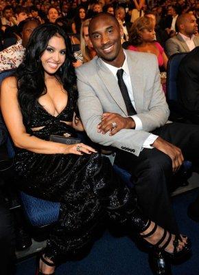 kobe and wife