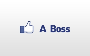 facebook boss thumbs up white background like a boss 1920x1200 wallpaper_www.wallmay.com_17