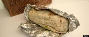 March 12, 2012 - Minneapolis, MN, U.S. - Skyway eateries, good and bad (IN THIS PHOTO) Chipotle - Chicken Burrito with black beans, peppers, tomatoes, lettuce and guacamole. ].BRIAN PETERSON a?¢ brianp@startribune.com.Minneapolis, MN  - 03/12/2012 (Credit